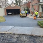 driveway paving project