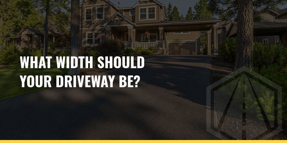 What Width Should Your Driveway Be
